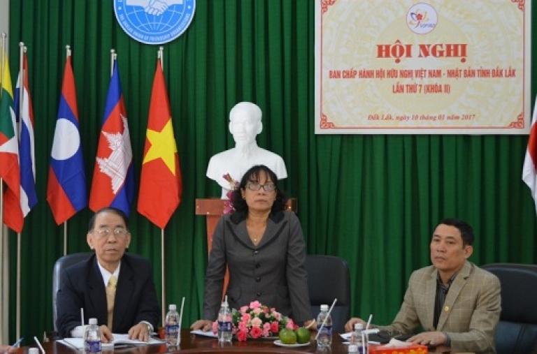 Hội nghị Ban Chấp hành Hội Hữu nghị Việt Nam – Nhật Bản tỉnh lần thứ 7, khóa II