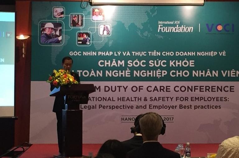 Chăm sóc sức khỏe và an toàn người lao động sẽ quyết định sự thành công của DN