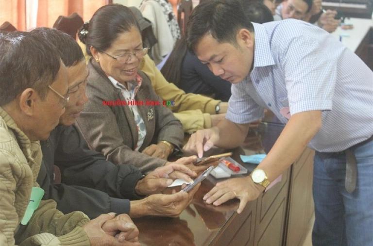 Tập huấn cho nhóm trưởng tại Lâm Đồng