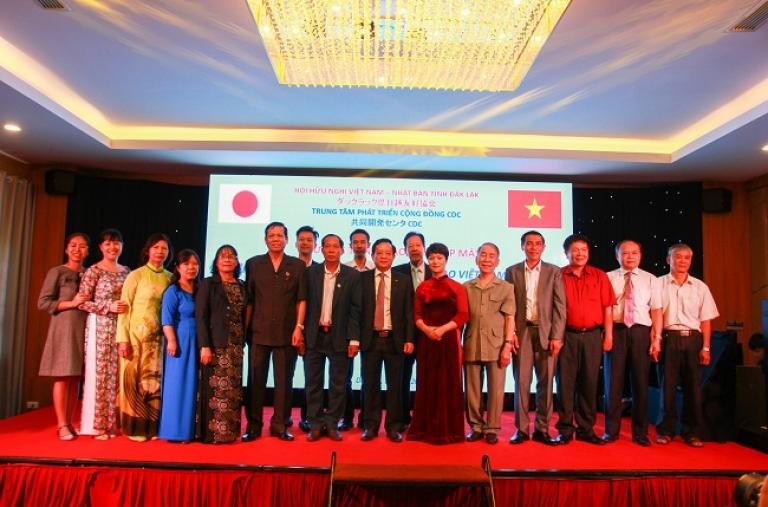 Trung Tâm Phát Triển Cộng Đồng (CDC) Đăng cai tổ chức Chương trình Giao lưu, Gặp mặt nhân kỷ niệm 47 năm ngày thiết lập quan hệ ngoại giao Việt Nam - Nhật Bản.