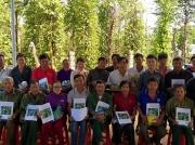 Tập huấn về sản xuất hồ tiêu theo Tiêu chuẩn mạng lưới nông nghiệp bền vững (SAN) cho bà con nông dân