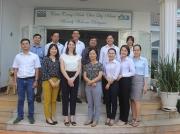 Đoàn Lãnh sự quán Hoa Kỳ tại Tp. Hồ Chí Minh thăm và làm việc tại văn phòng CDC
