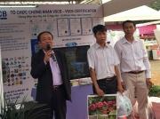 TS. Trần Văn Khởi - Quyền Giám Đốc Trung Tâm Khuyến Nông Quốc Gia phát biểu tại Chương trình